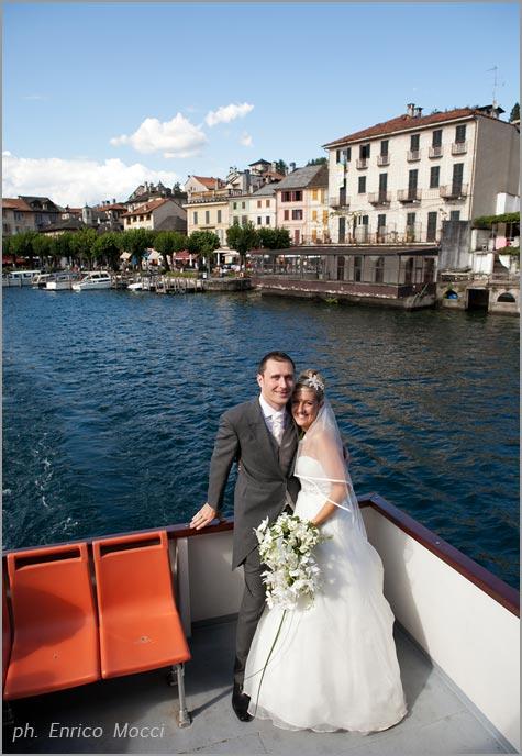 noleggio motoscafi matrimonio sul lago