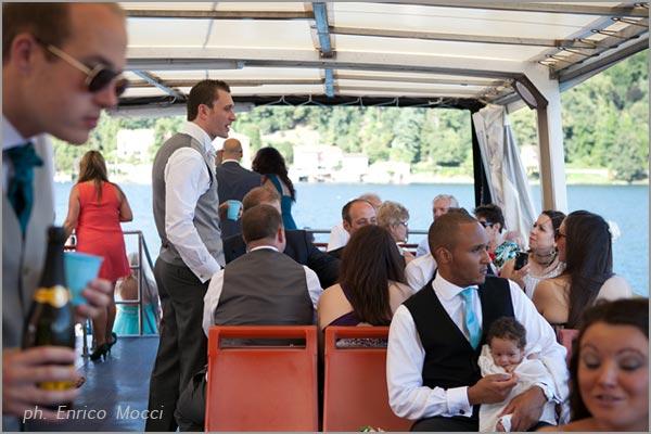 noleggio battelli per feste di matrimonio sul lago