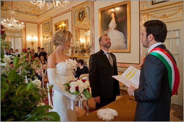 cerimonia civile di matrimonio al Grand Hotel Borromees di Stresa