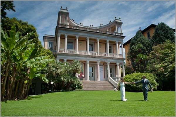 matrimonio a Villa Giulia di Pallanza