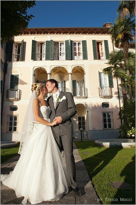 nozze a Villa Gippini Lago d'Orta