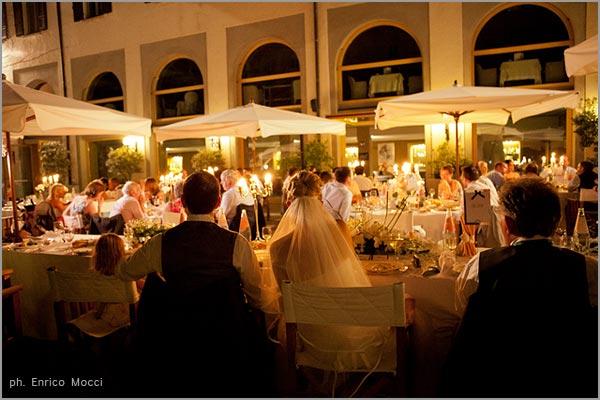 cena matrimonio ristorante Hotel San Rocco