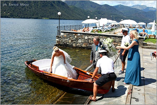 nozze Hotel San Rocco lago d'Orta