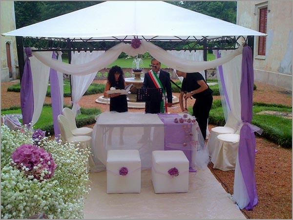 Gazebo Per Matrimonio In Giardino : Decorazioni gazebo matrimonio migliore collezione