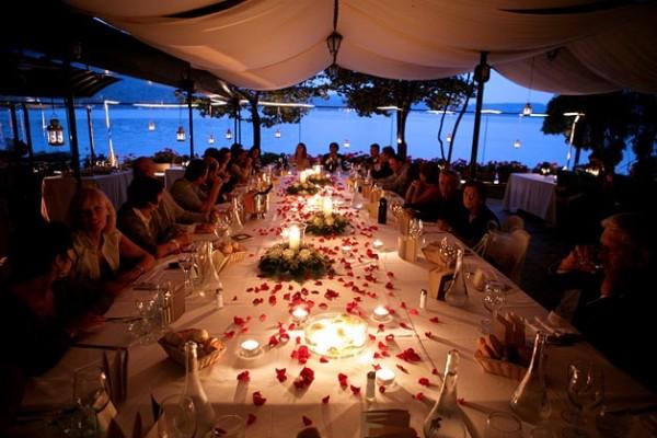 cena di matrimonio Ristorante San Giulio