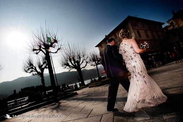anniversario di matrimonio sul lago