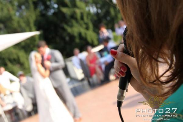 ricevimento nozze in terrazza Hotel Giardinetto Pettenasco