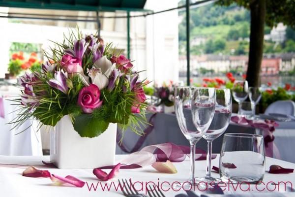 fiorista matrimonio ristorante San Giulio