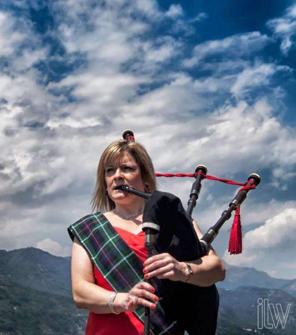 suonatore cornamusa per matrimonio scozzese