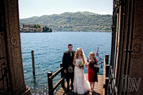 matrimonio scozzese a Orta