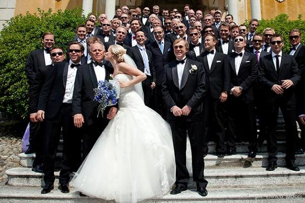 matrimonio religioso con sposi norvegesi in Italia