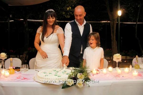 torta nuziale matrimonio ristorante San Giulio