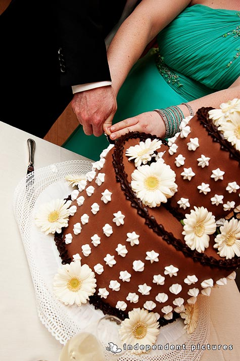 torta nuziale al cioccolato