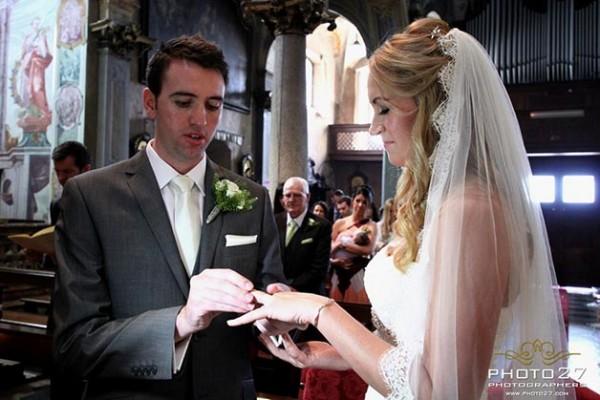 matrimonio chiesa dell'Assunta Orta