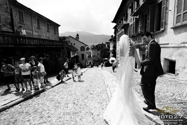 nozze lago d'Orta