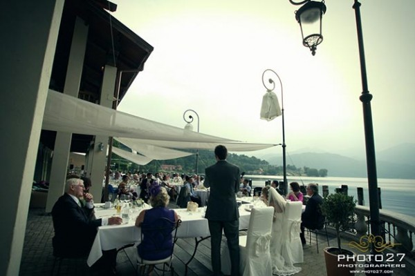 matrimonio ristorante Orta Beach Club