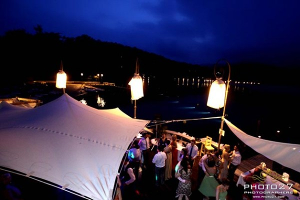 cena matrimonio Orta Beach Club