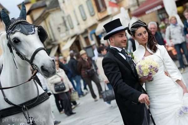 Matrimonio In Carrozza : Addobbi floreali matrimonio lago maggiore