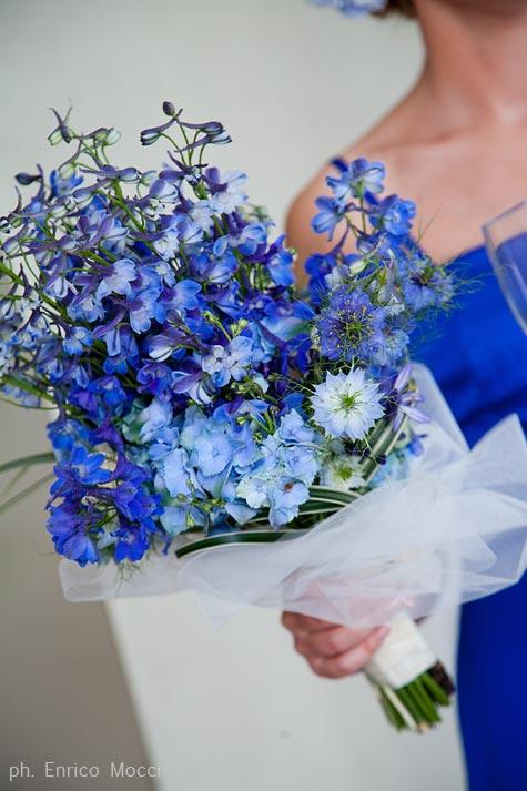 Cornflower Blue Bridal Shoes