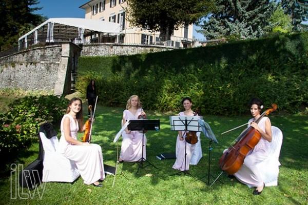 quartetto d'archi Villa Pestalozza
