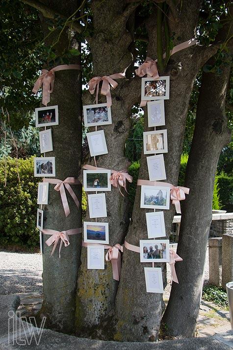 tableau de mariage a Villa Pestalozza