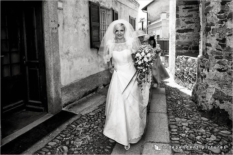 Cerimonia matrimonio in chiesa Isola dei Pescatori