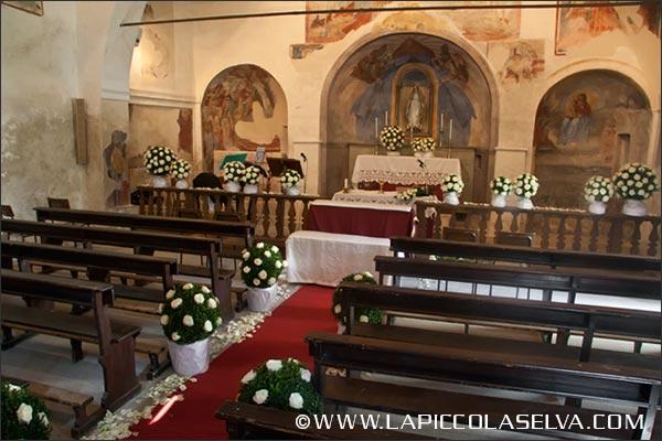 fiorista Gozzano matrimonio chiesa Madonna di Luzzara