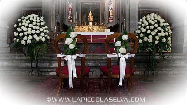 fiorista matrimonio chiesa San Leonardo Pallanza Verbania