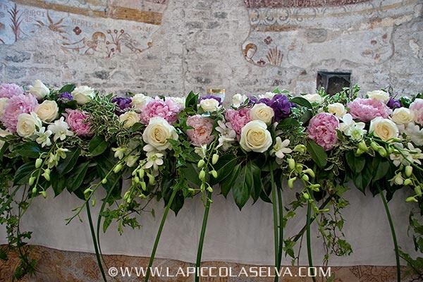fiori matrimonio chiesa San Remigio Verbania Pallanza