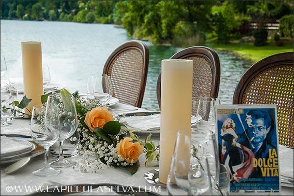 Fiorista matrimonio Hotel Piccolo Lago di Mergozzo