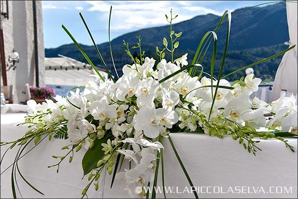 fiorista matrimonio Hotel San Rocco Orta