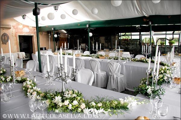fiori matrimonio ristorante isola di San Giulio, lago d'Orta
