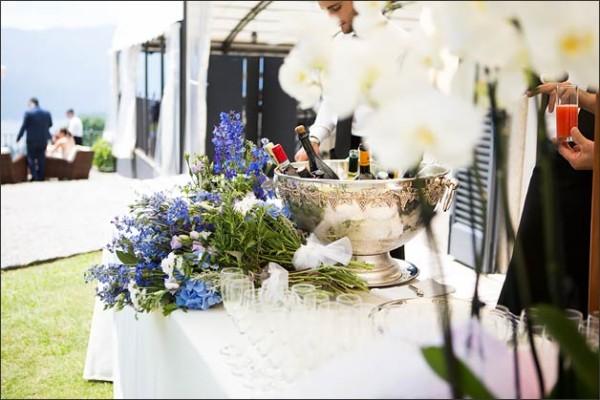 catering matrimono Villa Pestalozza