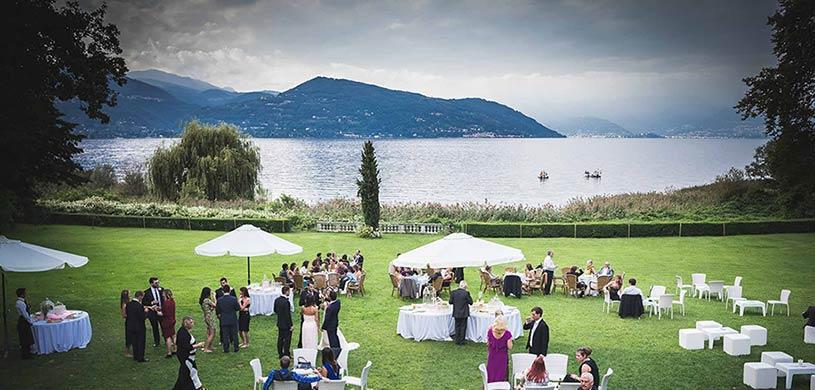 matrimonio a Villa Rocchetta lago Maggiore