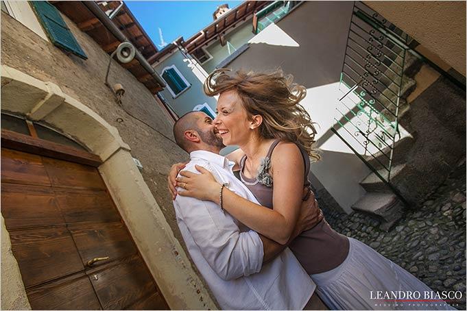servizio fotografico prematrimoniale Lago Maggiore