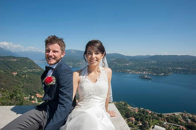 Matrimonio al lago d'Orta © foto Estella Lanti