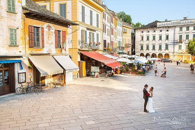 Matrimonio al Lago d'Orta © foto Marco Arduin