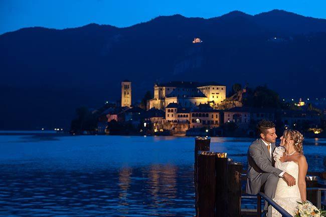 Matrimonio al lago d'Orta © foto Piero Gatti