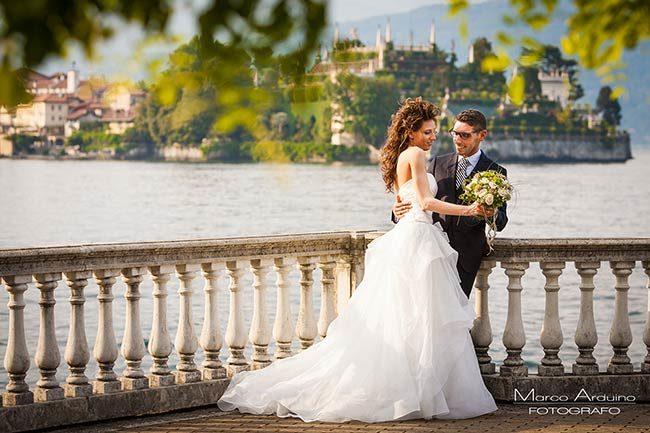 Matrimonio a Stresa Lago Maggiore © foto Marco Arduino