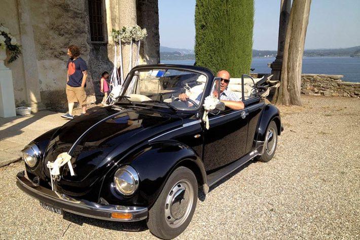 Noleggio Maggiolino matrimonio Stresa lago Maggiore