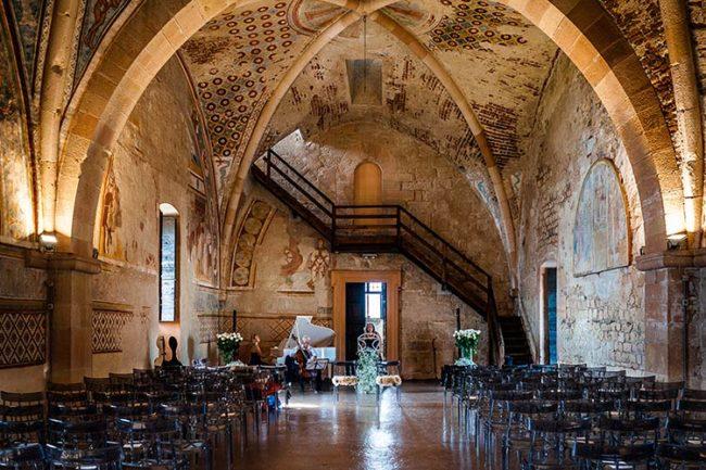 Cerimonia di matrimonio alla Rocca di Angera © foto Riccardo Bestetti