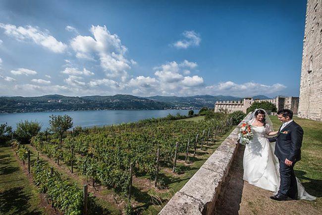 Castello per matrimonio al Lago Maggiore © foto Matrimoni d'Autore