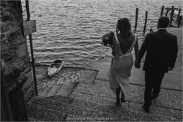 Tour motoscafo Isola di San Giulio matrimonio Lago d'Orta