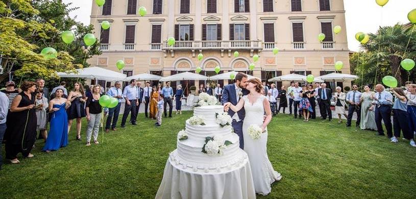Le Muse banqueting ricevimento di matrimonio al Lago Maggiore