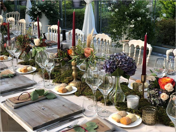 Catering ricevimento di matrimonio al Lago Maggiore