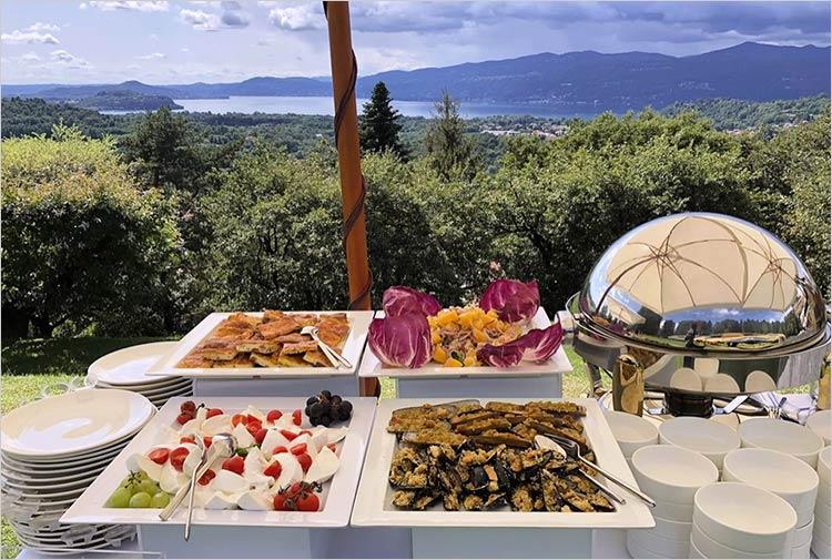 Catering ricevimento di matrimonio Villa Repui