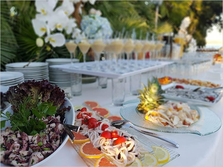 Delicatezze catering matrimonio Lago Maggiore