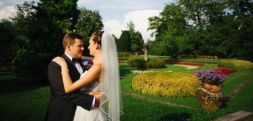 Villa Taranto, matrimonio sul Lago Maggiore
