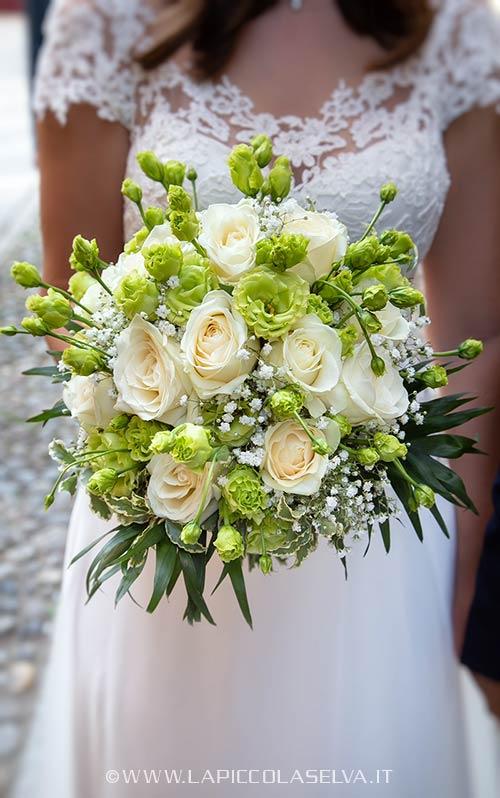 Bouquet da sposa al Lago d'Orta