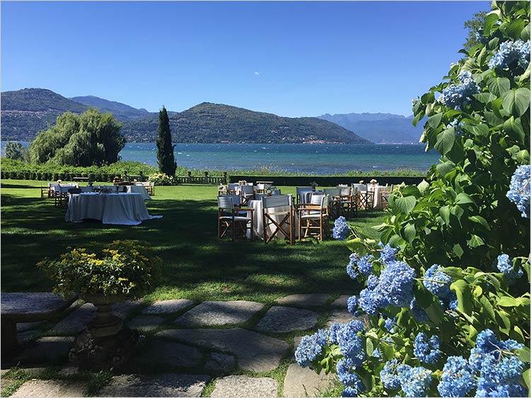 Matrimonio a Villa Rocchetta sul Lago Maggiore